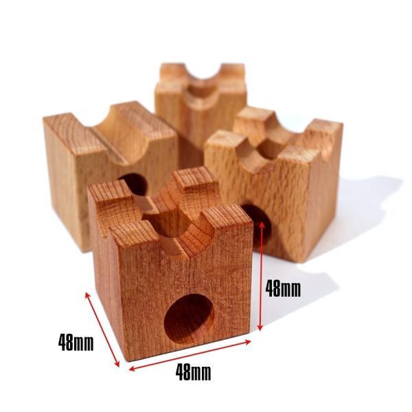 知育 木製ブロック 立体パズル 立体迷宮 積み木 ベーシス仕様 30ピース 知育玩具 ピタゴラスイッチ 藤井聡太|kusunokishop|10