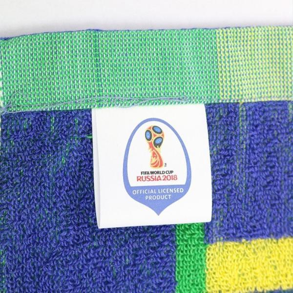 2018FIFAワールドカップ ロシア大会 オフィシャル タオルマフラー W杯 日本代表 ブラジル 送料無料|kusunokishop|09