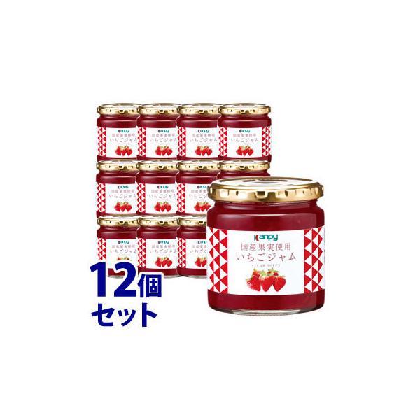 《セット販売》 加藤産業 カンピー 国産果実使用いちごジャム (260g)×12個セット Kanpy ※軽減税率対象商品
