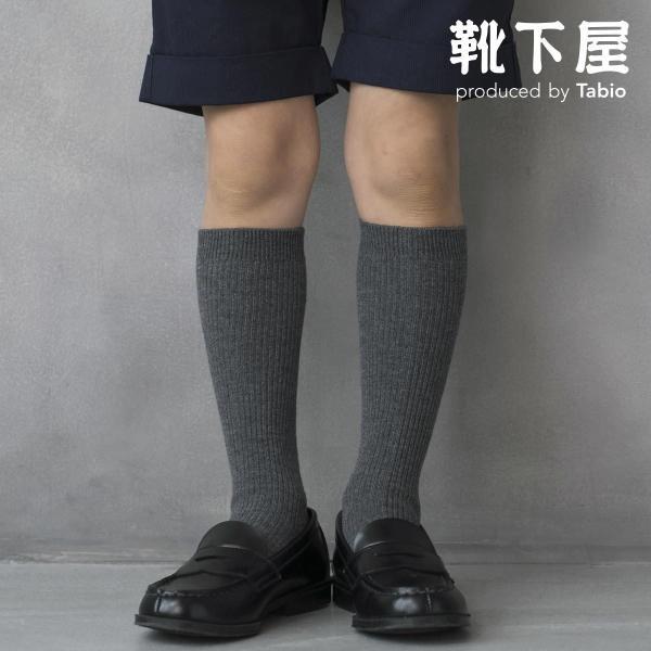 キッズ靴下靴下屋新2×1リブハイソックス13〜15cmタビオ