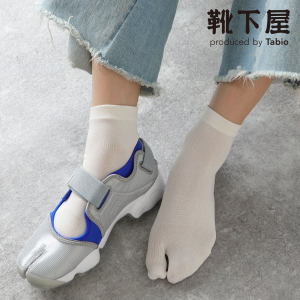 レディース靴下Tabio涼感足袋ショートソックス靴下屋タビオ