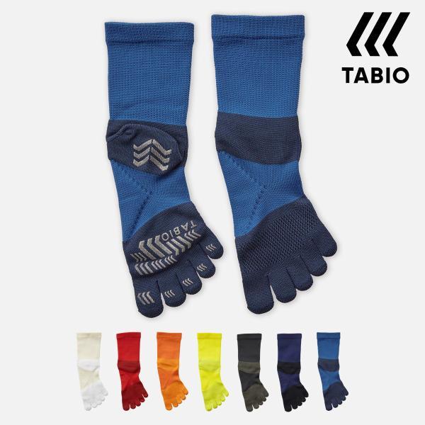 メンズ靴下TABIOSPORTSレーシングラン五本指クルー25〜27cmMサイズ靴下屋タビオタビオスポーツ