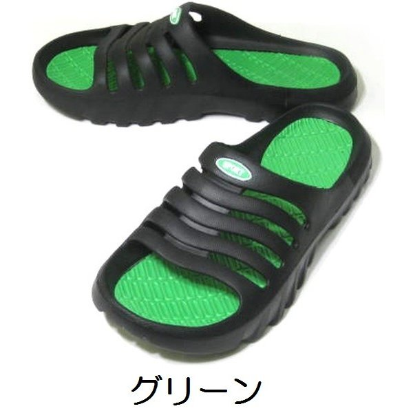 シャワーサンダル 軽量 ベランダ 庭 軒先 海水浴 プール EVA製 22〜27cm kutunchi 04
