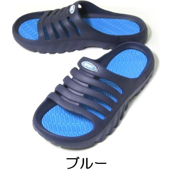 シャワーサンダル 軽量 ベランダ 庭 軒先 海水浴 プール EVA製 22〜27cm kutunchi 05