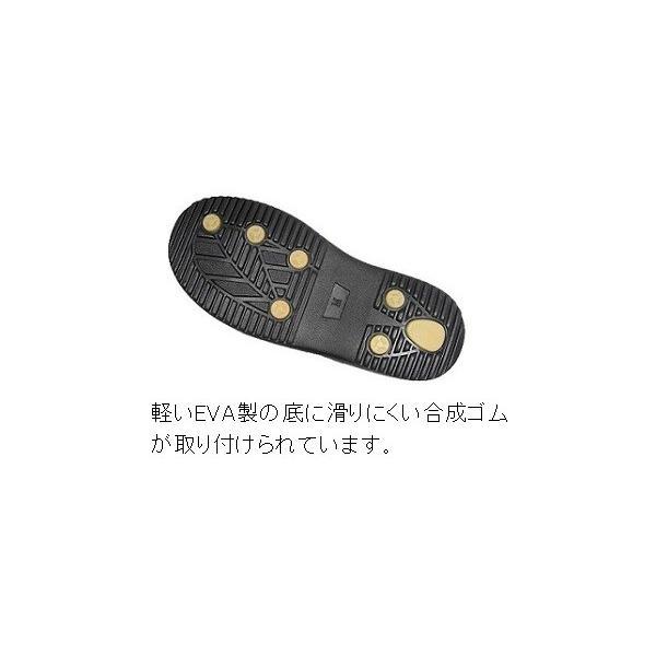 幅広軽量サンダル ヘップ メンズ No.1300 ベランダ 庭 軒先 外出|kutunchi|04