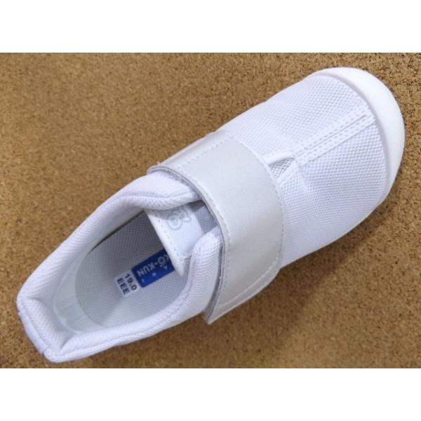 ASAHI KENKO-KUN アサヒ健康くん502A ホワイト/ホワイト KC36501AB │ 上履き スクールシューズ 15.0cm-25.0cm|kutuya|03