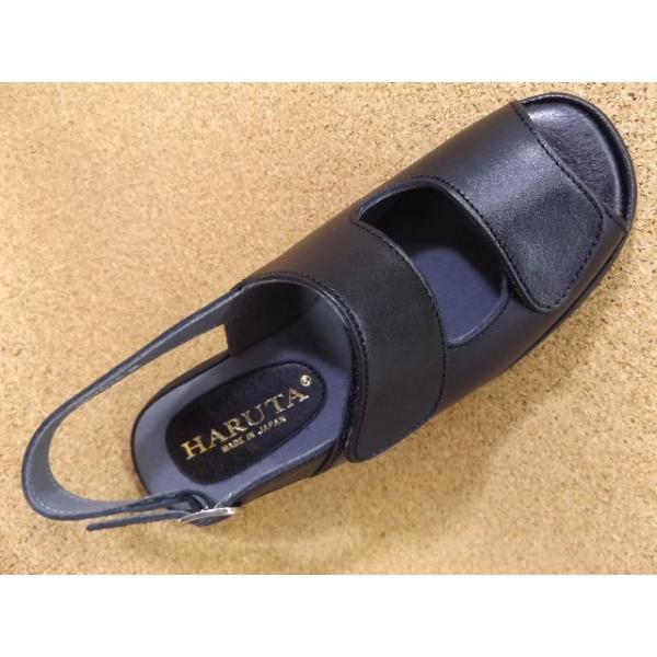 ハルタ HARUTA-7675 ブラック│ レディース サンダル 22.0cm-24.5cm|kutuya|03