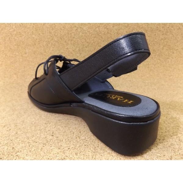 ハルタ HARUTA-7676 ブラック│ レディース サンダル 22.0cm-24.5cm|kutuya|02
