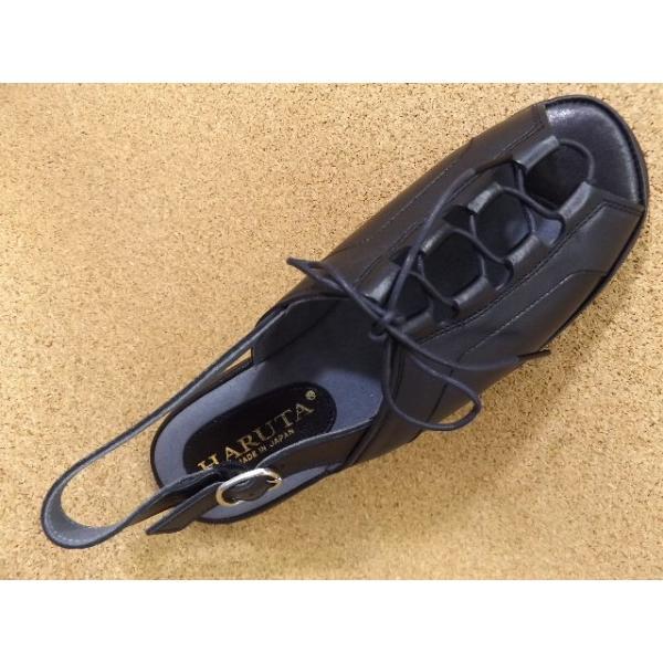 ハルタ HARUTA-7676 ブラック│ レディース サンダル 22.0cm-24.5cm|kutuya|03
