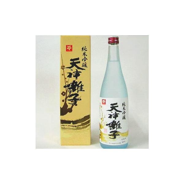 祝い酒 天神囃子 てんじんばやし(純米吟醸酒)化粧箱入1800ml|kuwaharasyoten