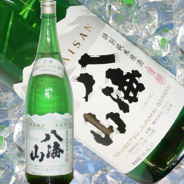 八海山 特別純米 (しぼりたて原酒 1800ml) 八海山 限定 農醇な 日本酒|kuwaharasyoten