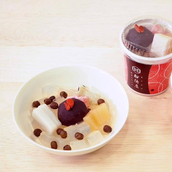 母の日 スイーツ ギフト プレゼント くず餅入 新甘味セット くず餅大箱1個、あんみつ2個、ところてん2個 船橋屋 【冷蔵品】|kuzumochi|03
