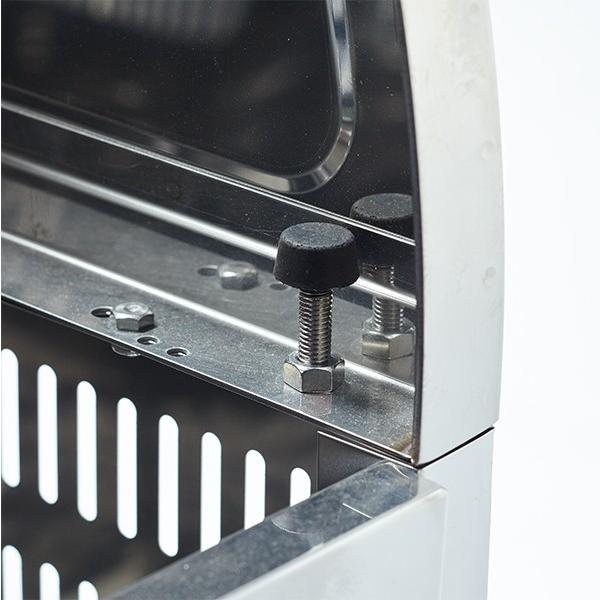 【WS-900 550L】ゴミステーション 町内会 集合住宅 店舗 大型ゴミ箱 屋外 スライド式 ステンレス 環境ステーションWS-900 550L 幅900mm|kwakui|08