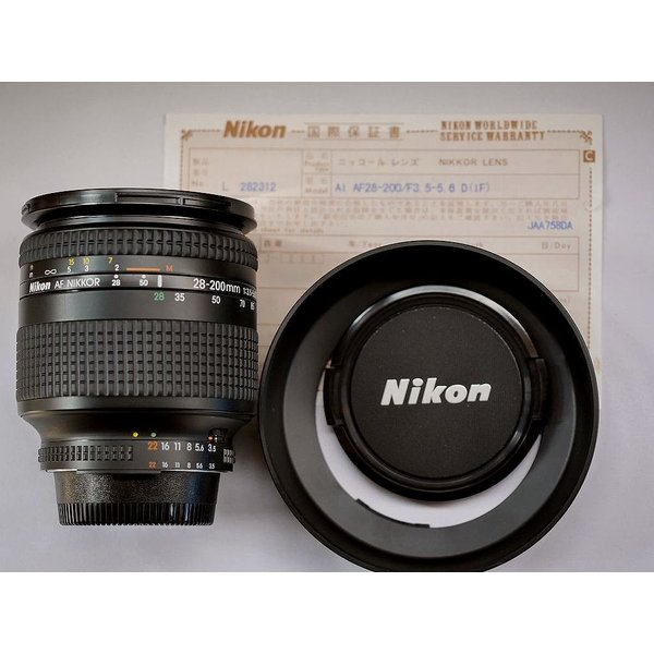 Nikon ニコン AF Zoom NIKKOR 28-200mm f3.5〜5.6D(IF)(未使用)