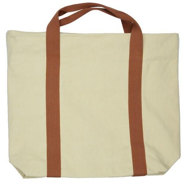 色合いとシルエットが可愛い 大きめキャンバストートバッグ 無地 2色 グレー T-00101429