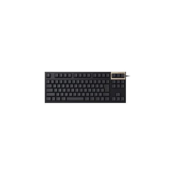 東プレ REALFORCE TKL SA R2 日本語テンキーレスキーボード(91配列+APC機能+静音):黒|kwelfare