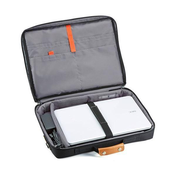 サンワサプライ PCキャリングバッグ15.6型ワイド対応 ACアダプタ収納可能 ブラック BAG-C39BKN 1個