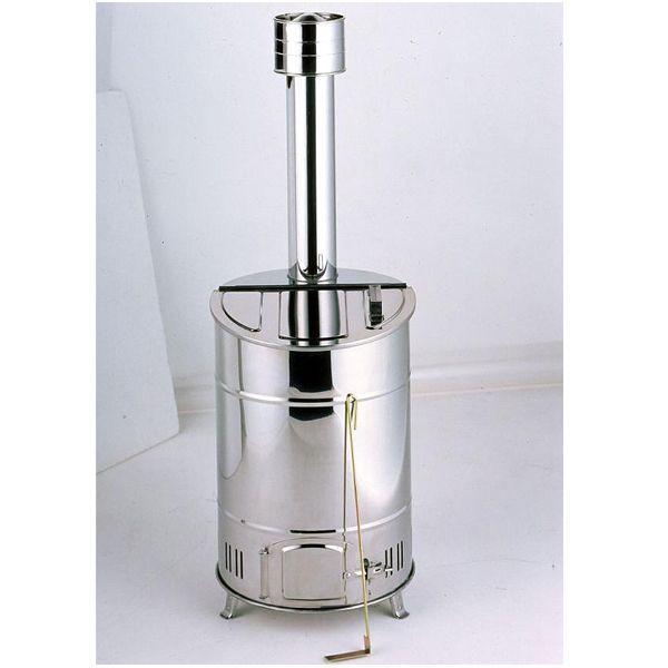 「ステンレス製 家庭用焼却炉 60」ドラム缶焼却炉