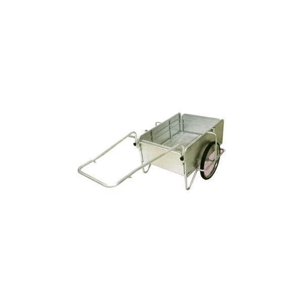 「アルミ製折りたたみ式リヤカー」コンパクト 収納可能
