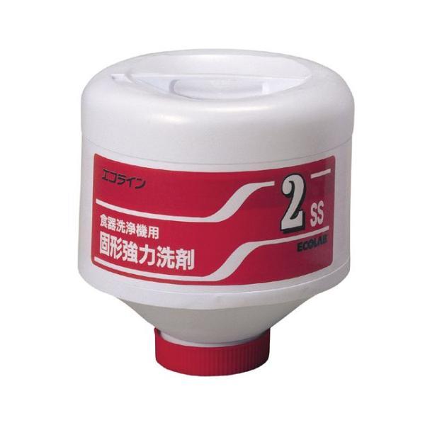 【業務用・食器洗浄機用洗剤(固形タイプ)】エコラボ エコライン 2SS(4kg×4)|kwonder|02