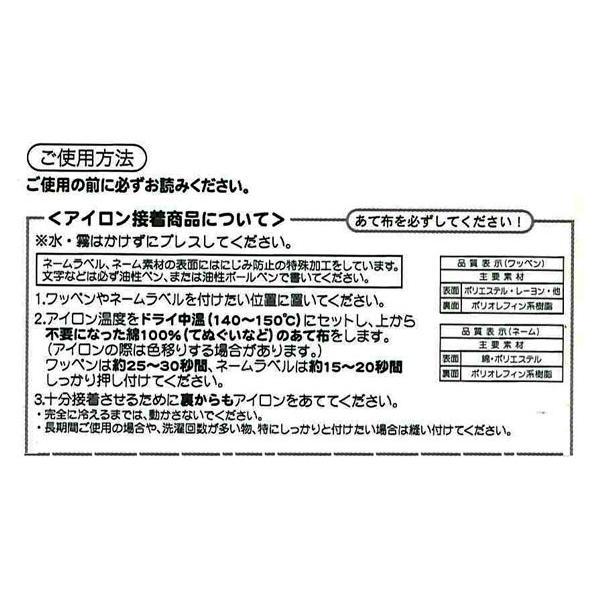 PRS300-60981 キャラクターワッペン アップリケ 新幹線変形ロボシンカリオンE5はやぶさ ネームラベル PRS300−60981 ky-yoshikawa 02