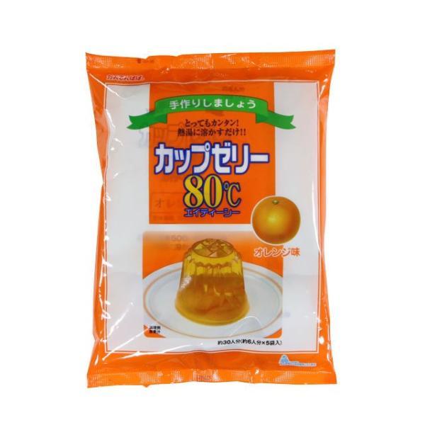 伊那食品 かんてんぱぱ カップゼリー オレンジ (200g×3)