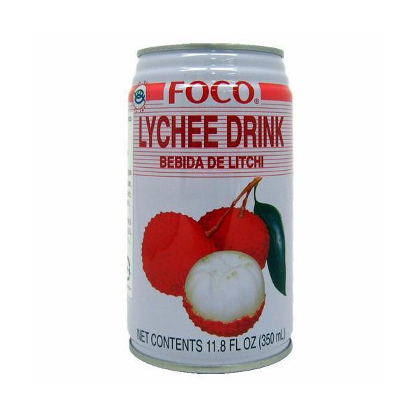 ライチ ドリンク FOCO 350ml【非常食】【保存食】【長期保存】