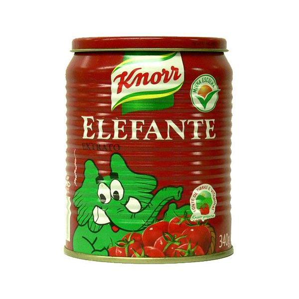 クノール トマトソース エレファンテ ブラジル産 340g【非常食】【保存食】【長期保存】
