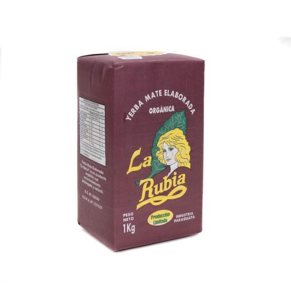 マテ茶 スペシャル ラ ルビア(茎入り) 1kg マテ茶葉100%【非常食】【保存食】【長期保存】