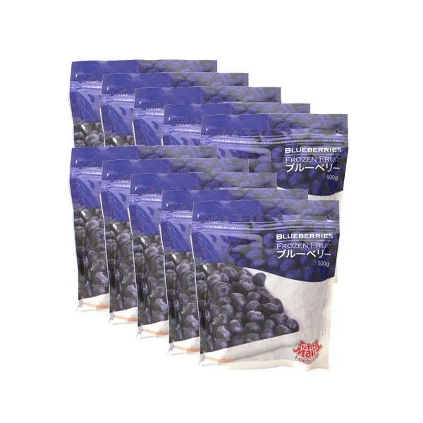 ブルーベリー 冷凍 500g×10袋 トロピカルマリア