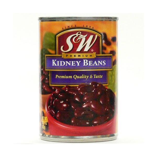 S&W キドニービーンズ 432g(固形量241g)【缶詰 セット】【非常食】【保存食】【長期保存】