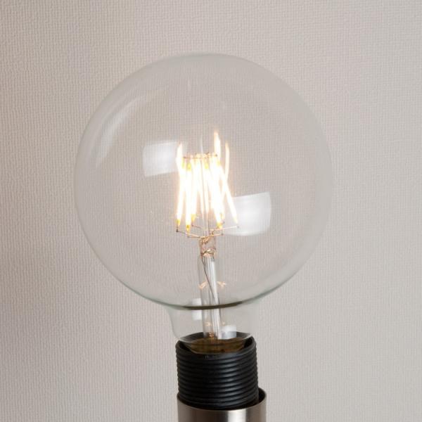 ペンダントライト 1灯 E26 LED電球付き 60W形相当 ボールG95 木枠 シーリングライト フィラメント LEDエジソン LEDクリア電球インテリア照明 洋風 北欧|kyodo-store|05