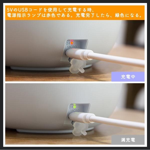 アロマディフューザー LEDランタン アロマライト 加湿器 静音 空気浄化器 タイマー キャンプランプ 花粉症対策 防災 潤い 節電|kyodo-store|09