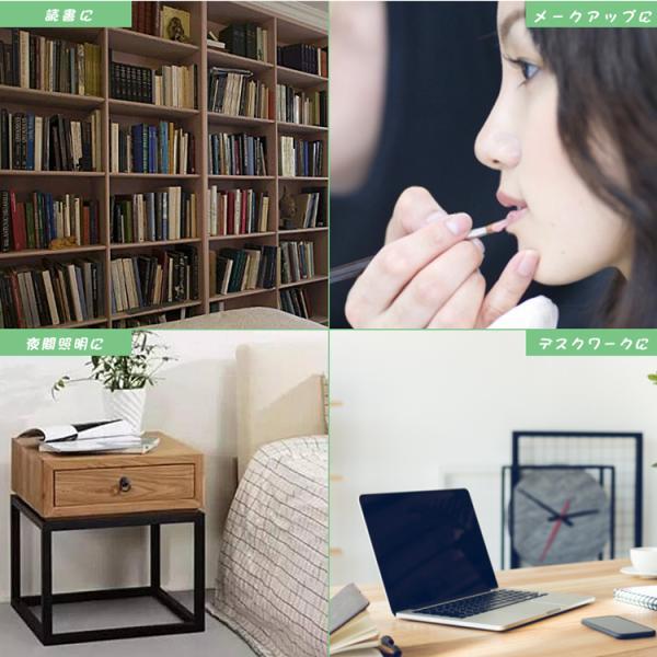 クリップライト LED デスクスタンド 読書灯 調光調色 USBランプ ベッドライト テーブルライト 仕事 寝室 卓上 ベッドサイド 学習用 哺乳 子供用 目に優しい|kyodo-store|12