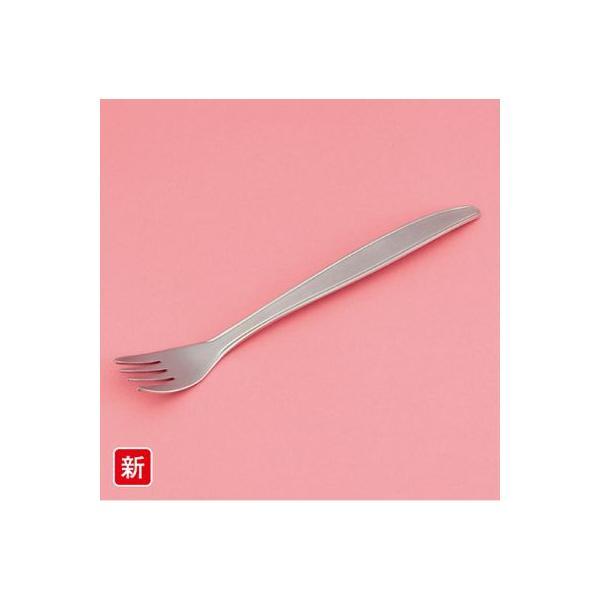 介護・自助用/SUS製 フラットライトフォーク スリーライン[AO-12] 食器 カトラリー 介護用 病院 福祉 施設 ユニバーサルデザイン