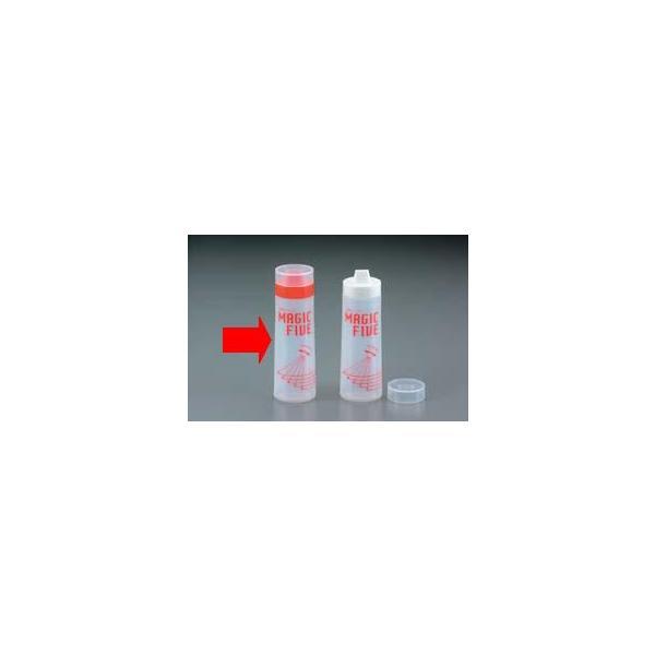 ディスペンサーボトル マヨネーズをかけるのに最適! 容量300ml マジックファイブディスペンサー レッド(EBM21-1)(525-17)