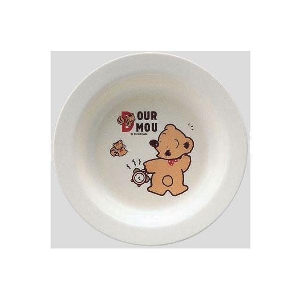 ※10個セット※メラミン子供用食器 デュールームー カレー皿 (190×33.5mm) Daiwa(台和)[MC-6-DM] 業務用 プラスチック製 保育園・幼稚園向け