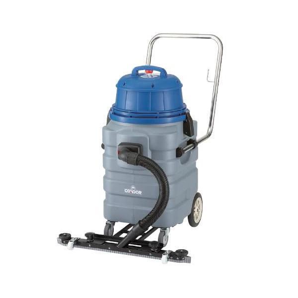 ※代引不可 送料無料 清掃機器 クリーナー・掃除機 強力バキューム 湿式 コンドル ウェットバキュームクリーナーWS-35 (山崎産業)[E-134]