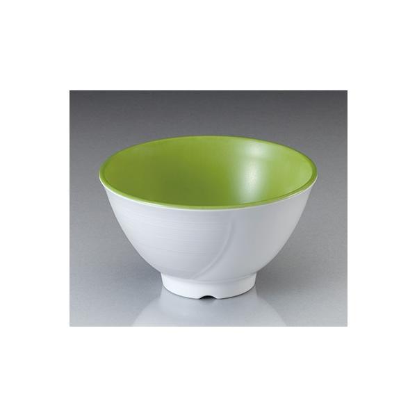 メラミン テラス ライスボール・大  ピクルスグリーン(133×H76mm・500cc) マンネン/萬年[PG-900] 業務用プラスチック食器