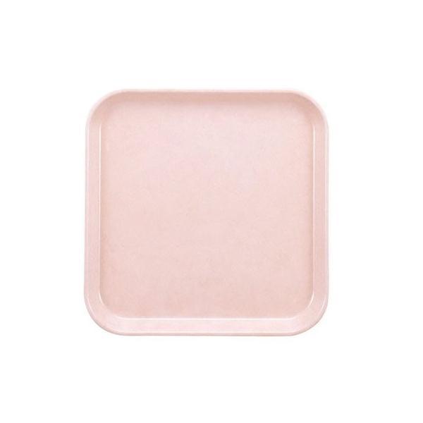 業務用トレー 信濃化学・SHINCA プラスチック・FRP製 FRPトレイ 33cm単色Rトレイ 「ピーチ」(330×330×20) [555-peach]