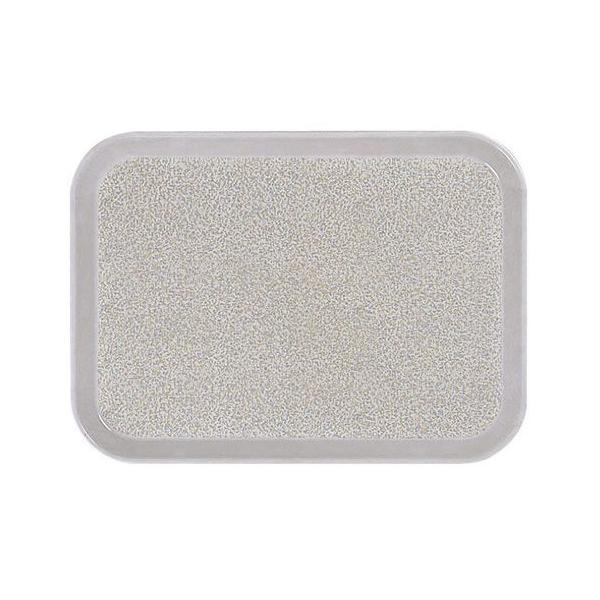 業務用トレー 信濃化学・SHINCA プラスチック・FRP製 ノンスリップトレイ 特殊トレイ 「グレーモスト」(410×300×20) [SS-41-gray]