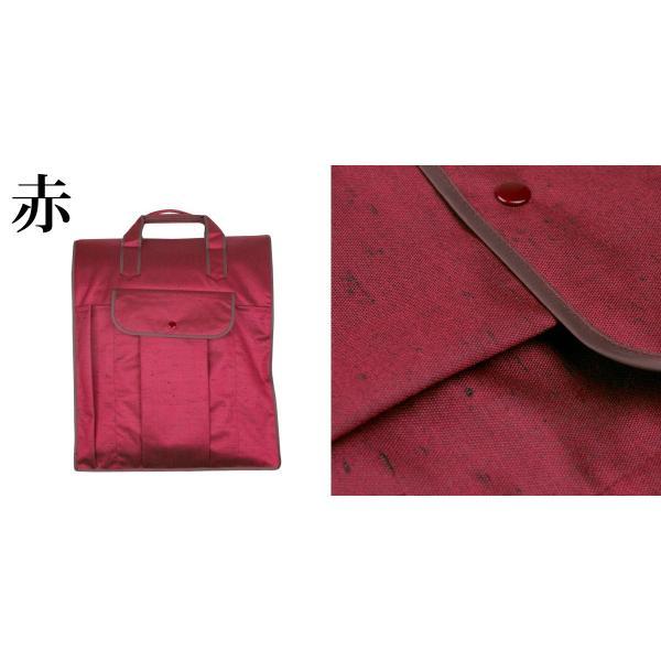 (着物バッグ 紬)日本製 着物バッグ レディース あづま姿 つむぎ織り 和装バッグ 着物収納バッグ 無地(zr)|kyoetsuorosiya|04