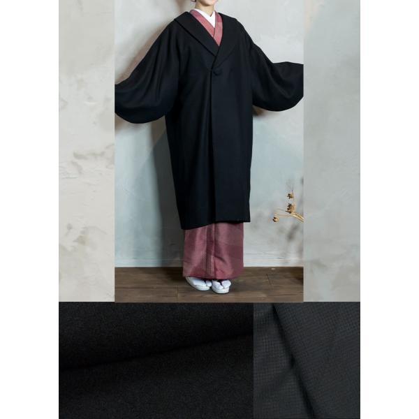 (着物コート ウール 6)着物 コート へちま衿 ウール混 女性 レディース 冬 和装コート 和装 防寒コート (ns42) (zr)|kyoetsuorosiya|04
