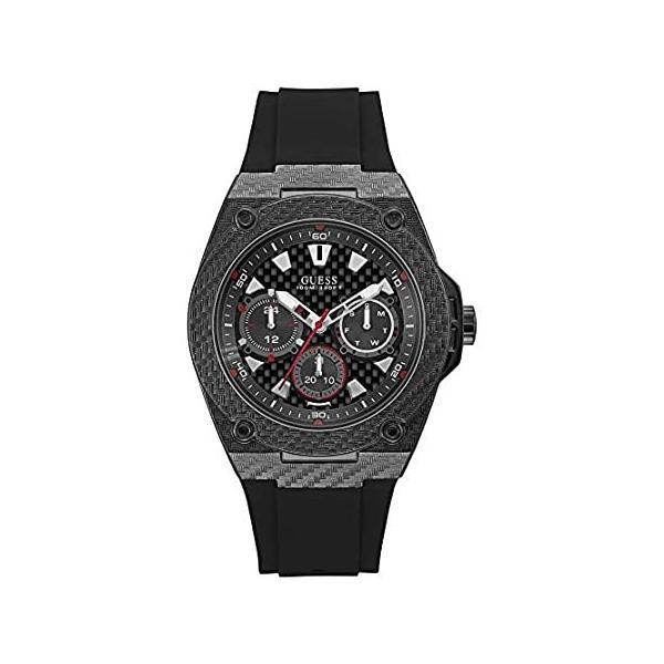 Guess Legacy Black Dial Multi-function Men's Watch-W1048G2 kyokos 01