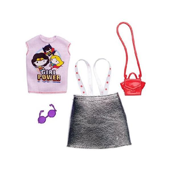 バービー 人形 洋服 DCコミックス ガールパワー 服 アクセサリーファッションセット
