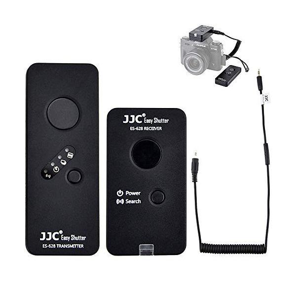 JJC Wired Wireless Shutter Release Remote Control for Fujifilm GFX100 X-T30 X-T3 GFX 50S GFX50R X-H1 X-Pro2 X-T2 X-T1 X-T20 X-T10 X-T100 X-E3 X-E2S X-