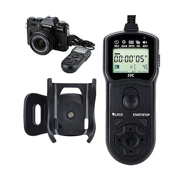 JJC Shutter Release Timer Remote Control for Fujifilm GFX100 X-T30 X-T3 GFX 50S GFX50R X-H1 X-Pro2 X-T2 X-T1 X-T20 X-T10 X-T100 X-E3 X-E2S X-A5 X-A10