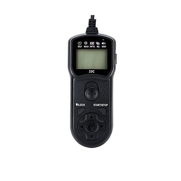 JJC TM-R2 LCD Timer Remote Control for Fujifilm GFX 50S GFX 50R X-H1 X-Pro2 X-T3 X-T2 X-T1 X-T20 X-T10 X-T100 X-E3 X-E2S X-E2 X-A5 X-A10 X100F X100T X