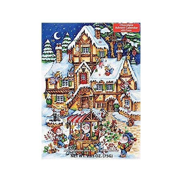 クリスマスマケット チョコレート アドベントカレンダー (クリスマスまでカウントダウン)