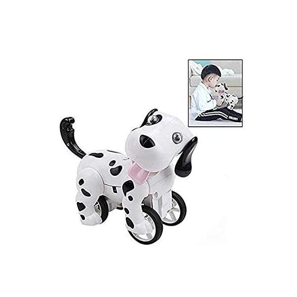 ELVASEN リモートコントロール 犬のおもちゃ ロボット 子犬 電子ペット 犬 おもちゃ 軽くて音で座る 3歳以上の子供用